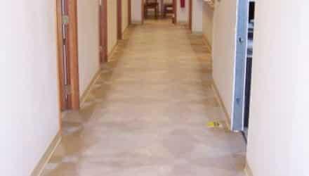 Advanced Vascular Resources hallway; featured