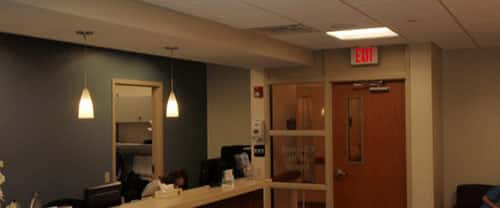 American Dental/ Chestnut Hills front desk; main