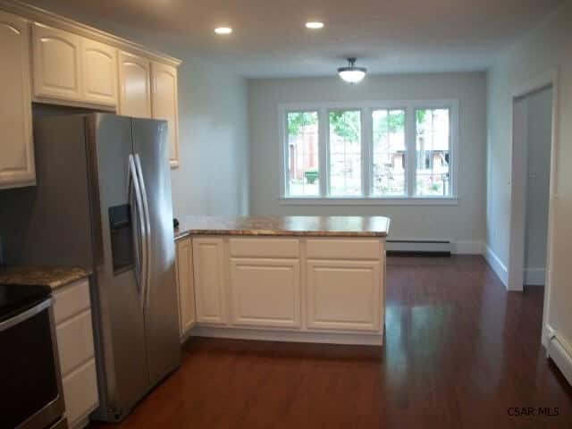 completed kitchen
