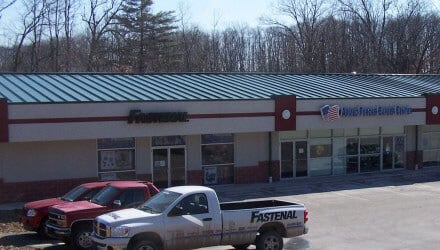 Fastenal storefront; featured