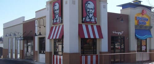 KFC/ Long John Silver's; building; main