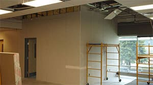 Medical Group of Windber drywall; small