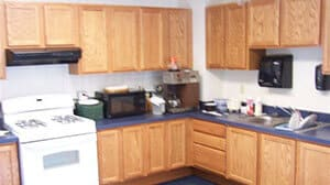 People's Natural Gas kitchen; small