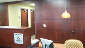 USSCO Credit Union; Desk; Small