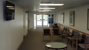 Windber Medical Center waiting room; small